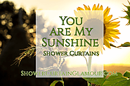 You Are My Sunshine Shower Curtain Ideas