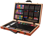 Amazon.com: Darice 80-Piece Deluxe Art Set: Arts, Crafts & Sewing