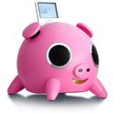 Amazon.com: Speakal iPig 2.1 Stereo iPod Docking Station with 5 Speakers (Pink): MP3 Players & Accessories