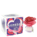 Someday by Justin Beiber Eau De Parfum Spray 1 oz / 30 ml for Women + Juicy Couture by Juicy Couture Vial (sample) .0...