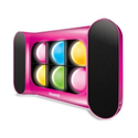 Amazon.com: iSound iGlowSound Dancing Light Speaker (Pink): MP3 Players & Accessories