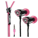 Amazon.com: Zipbuds JUICED In-Ear Earbuds with Tangle Free Zipper Cabling (Pink): Electronics