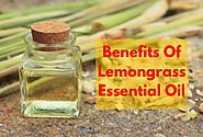 Lemongrass Essential Oil Benefits - How To Use Lemongrass Essential Oil
