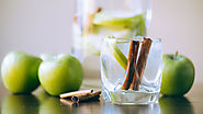 Apple cinnamon infused water recipe