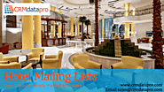 Lower Cost of Hotel Email List from CRMdatapro