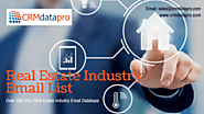 Take Your Business to New Heights with CRMdatapro Real Estate Industry Mailing Addresses