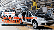 Acquire Result-Oriented Automobile Industry Mailing List from CRMdatapro