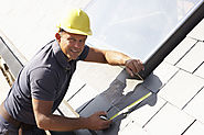 Roofer with a smile!