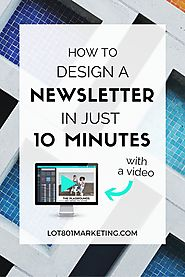 How to Design an Email Newsletter in 10 Minutes with Canva
