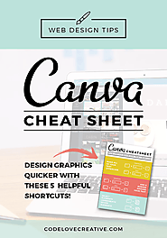 Canva Cheat Sheet: Design Graphics Quicker with these 5 Helpful Shortcuts | Code Love Creative | Web Design in Austin...