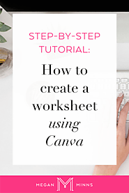 How To Create A Worksheet Using Canva