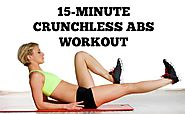 15-Minute Crunch Free Workout