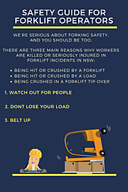 Safety Guide For Forklift Operators