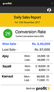 Automated Sales Report