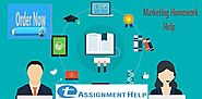 Get Marketing Assignment Help from Experts
