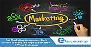business marketing assignment Marketing assignment help is an online assignment writing service from the experienced tutors based out in the uk, australia and the us at affordable price.