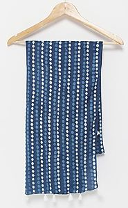 Buy Cotton Scarves for Women Online - Tuuda