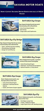 Bavaria Motor Boats for sale