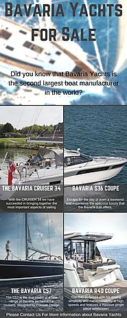 Bavaria Yachts for Sale