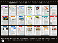 Technology Task/App Challenges for Teachers by Ron Burke