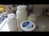 Raw goat's milk yogurt results!