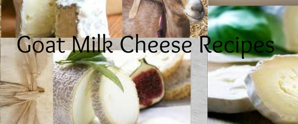 Headline for Goats Milk Cheese Recipes