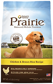 Nature's Variety Prairie Chicken and Brown Rice Recipe Dry Dog Food, 27-Pound