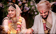First Pics - Virat Kohli and Anushka Sharma Married today morning
