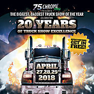 The 20th Annual Truck Show at 75 Chrome Shop