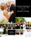 Black + White Weddings
