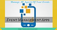 Event Management Apps - Manage All Aspects Of Your Events