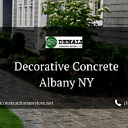 Decorative Concrete Albany NY - Denali Construction Services