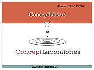 Concept Laboratories: Looking Custom Skin Care Formulation?