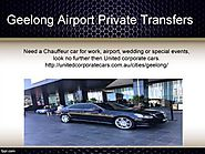 United Corporate Cars - Private Airport Transfers