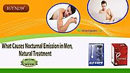 What Causes Nocturnal Emission in Men, Natural Treatment