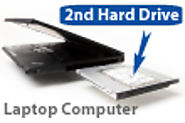 What are the benefits of using the hard drive caddy?