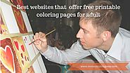 12 Best websites that offer Free Printable Coloring Pages for Adults - Money Making Way