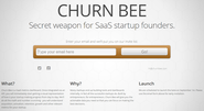 Churn Bee - Metrics For Your SaaS Startup