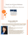 Family Law & Divorce Mediators at Peace Talks Mediation Services