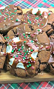 Holiday Hot Chocolate Cookies