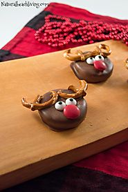 Chocolate Covered Reindeer Holiday Cookies