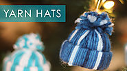 Yarn Hat Holiday Ornaments