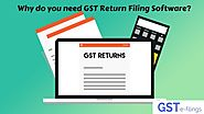 Why do you need GST Return Filing Software? | File GST Return