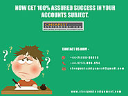 Accounting Assignment Help in Melbourne