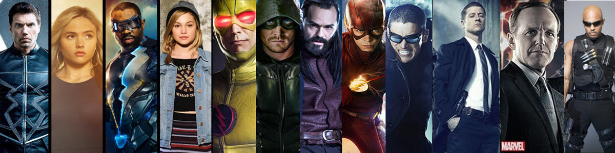 Headline for 111 Best Superhero Comic Book TV Shows bucket list