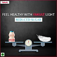 Yakult, India - Yakult light contains 6.5 billion LcS with...