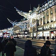 Sparkling Lights and Shopping in London