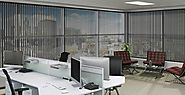 Commercial Window Coverings with Motorization