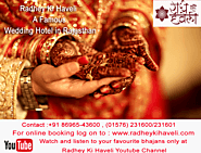Radhey ki Haveli A Royal Wedding Hotel in Rajasthan | Khatu Shyam Hotel