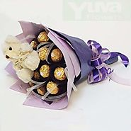 Buy/Send Cute Choco Love Online - YuvaFlowers.com